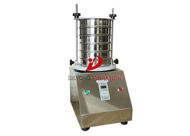 Good Quality Vibrating Screen Machine & Circular Portable Sieve Shaker With ASTM Scientific Research Test on sale
