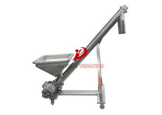 Good Quality Vibrating Screen Machine & All Stainless Steel Food Grade Flexible Screw Conveyor / Flexible Auger Conveyor on sale