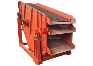 Good Quality Vibrating Screen Machine & Sing Deck Stone Circular Vibrating Screen Sifting For Coal Ore on sale