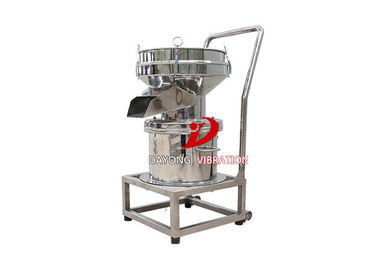 Good Quality Vibrating Screen Machine & Mobile Fully Enclosed Single Layer Orange Juice Vibrating Screen Filter With Stainless Steel Material on sale