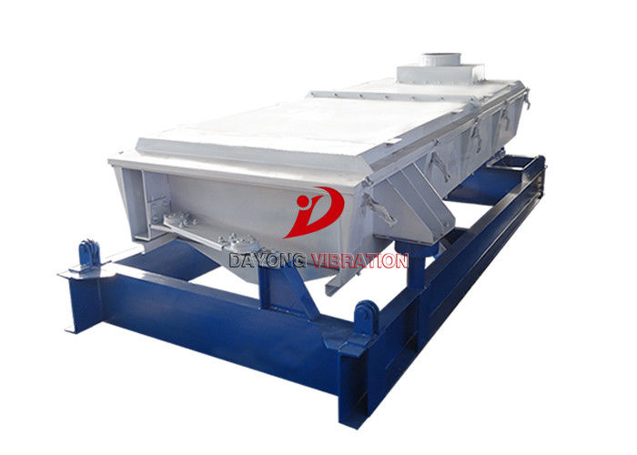Horizontal Fertilizer Gyro Vibro Separator Machine With Standard Motors