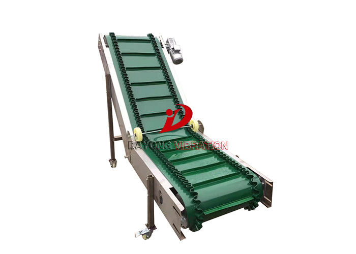 Inclined Moveable High Efficiency Powered Belt Conveyor Equipment