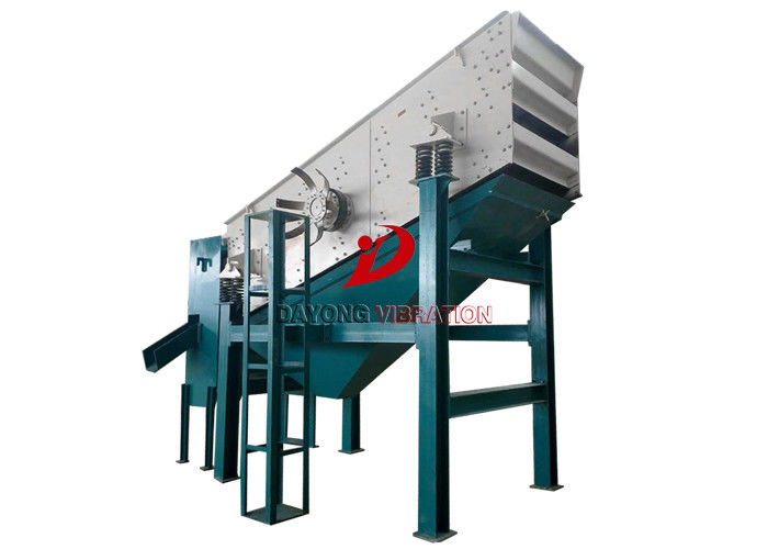 Stone Crusher Inclined Circular Vibrating Screen With Carbon Steel Material