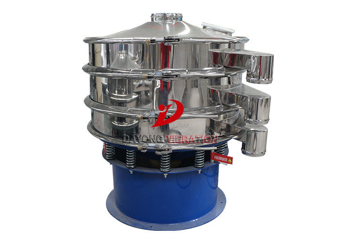 Convenient Cleaning Multi Types Round Vibrating Screen For Metallurgy