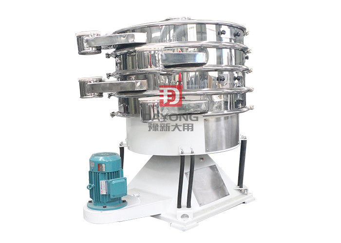 Double Layer Alloy Powder Tumbler Screening Machine For Chemical Industrial