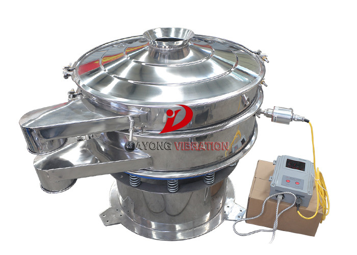 Quartz Mineral Ultrasonic Vibrating Screen With Stainless Steel 304