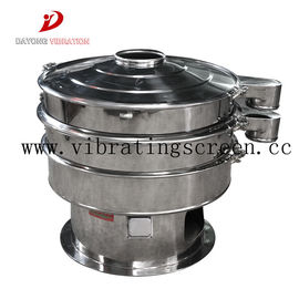 Food Grade Circular Motion Vibrating Screen , Rotary Stainless Steel Vibro Sieve
