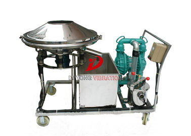 China Circular 600mm Diameter Vibrating Sieve Separator factory