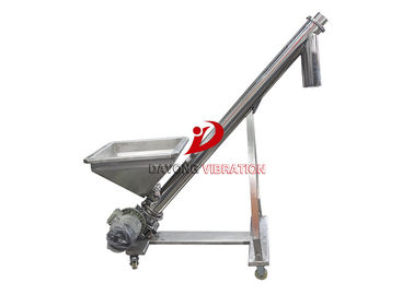 All Stainless Steel Food Grade Flexible Screw Conveyor / Flexible Auger Conveyor