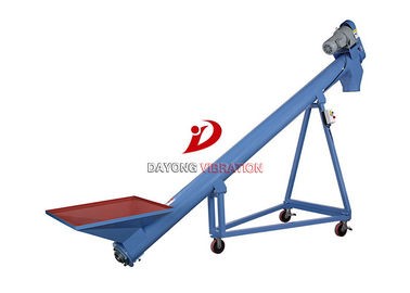 High Efficiency Flexible Screw Conveyor For Grain / Food / Chemical Transmission
