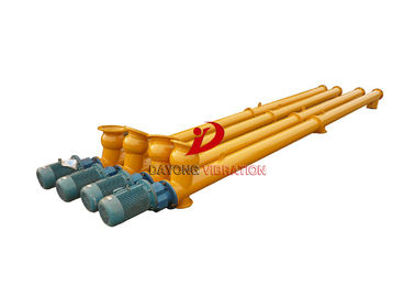 China Inclined Tubular Flexible Screw Conveyor /  Limestone Auger Screw Conveyor factory