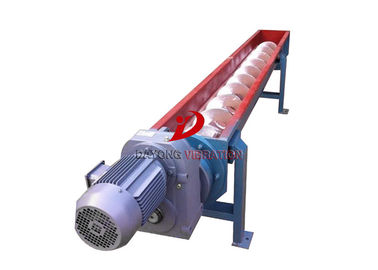 All Enclosed Vertical Flexible Screw Conveyor Structure With Non- Dust Pollution