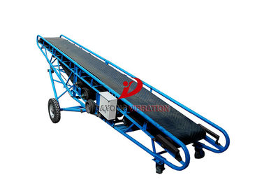 Low Noise Industrial Conveyor Systems High Temperature Resistance With Hopper