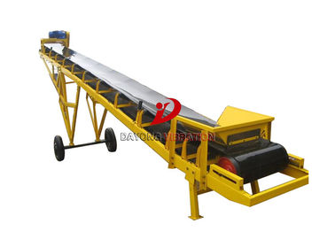 China Inclined  High Speed Powered Conveyor System Belt For Mining Ore factory