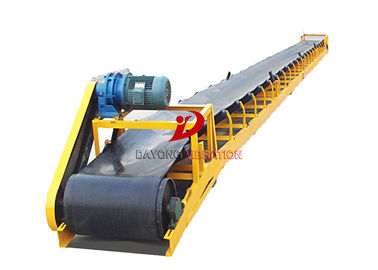 Heavy Duty  Adjustable Speed Inclined Belt Conveyor Systems / Belt Conveyor