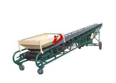 China Mobile Handling System Powered Industrial Material Belt Conveyor System factory